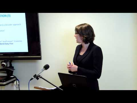 Employment Lecture Series 2014 - Employee Status