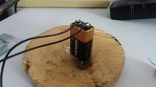 Carregando batéria 9V