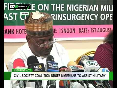 Civil Society Organisation urges Nigerians to support military