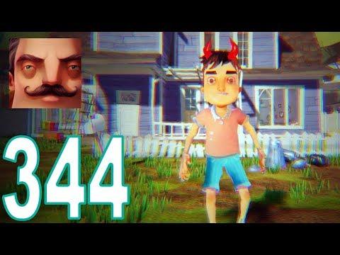Hello Neighbor - My New Neighbor Evil Aaron Act 1 Gameplay Walkthrough Part 344