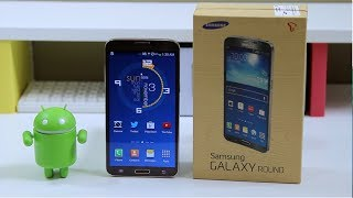 Samsung Galaxy ROUND: Unboxing & Review