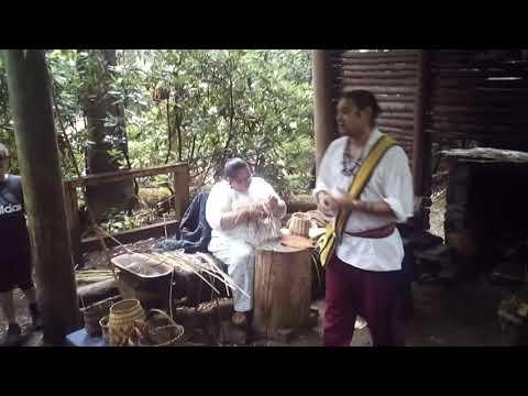 Cherokee basket weaving (part 1/2)
