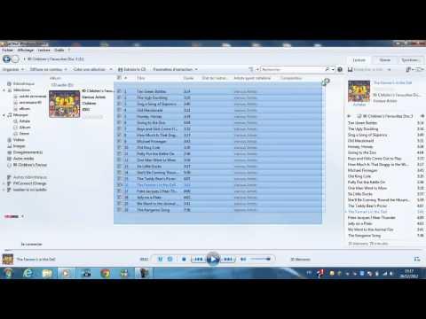 Copier / Extraire de la musique d'un CD sur son Ordinateur