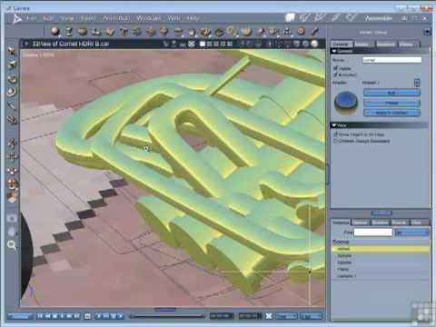 Carrara 8 pro tutorials: auto-fit in carrara 8. 5, for v4 to.