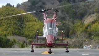 静岡ヘリポートを離陸するアカギヘリコプター カマン K-MAX JA6236 thumbnail