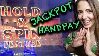 SAHARA GOLD Handpay JACKPOT on High Limit Lightning Link!