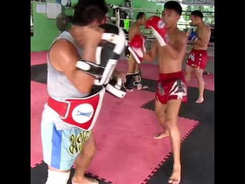 Muay Thai Training In Ao Nang Krabi Thailand