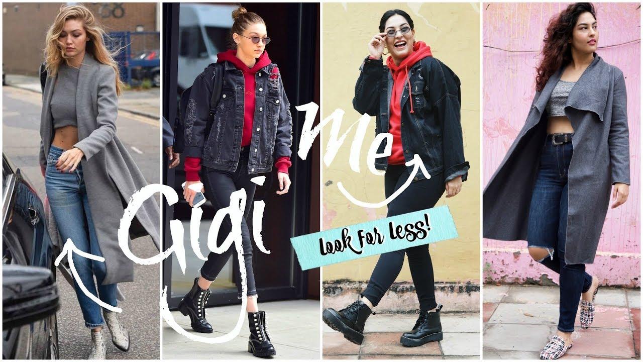 564c7c09564a Gigi Hadid STYLE STEAL 2018 | I Recreated Gigi Hadid Outfits For Less |  StyleMeUpWithSakshi