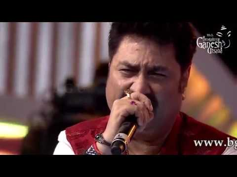 Do Dil Mil Rahe Hain from the movie Pardes  Kumar Sanu at 55th Bengaluru Ganesh Utsava