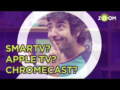 CHROMECAST 2, APPLE TV ou SMART TV? | DANDO UM ZOOM #49