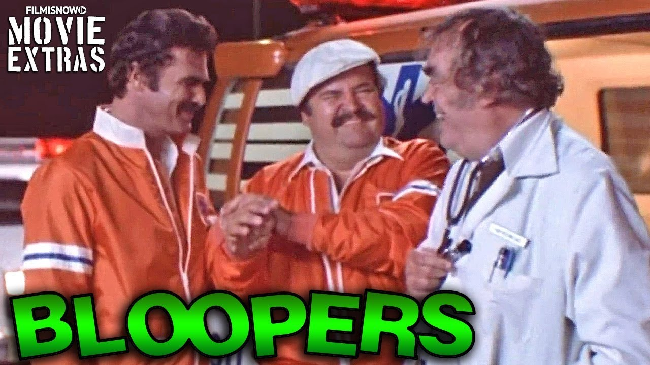 THE CANNONBALL RUN Bloopers & Gag Reel (1981)