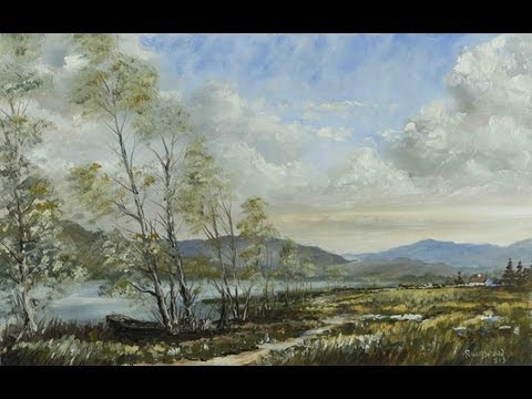 Autumn Lake – Time Lapse Painting