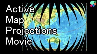 Active Map Projections Movie