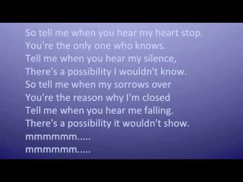 Possibility by Lykke Li with lyrics
