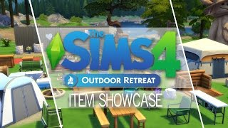 The Sims 4 - Outdoor Retreat - Item Showcase