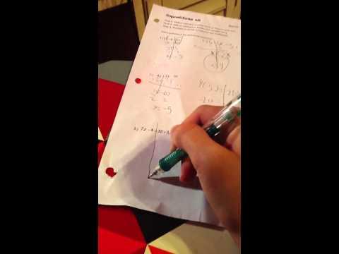 Me doing math homework