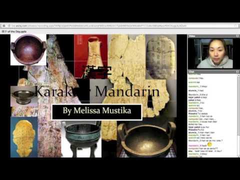 Pelajaran Bahasa Mandarin - TTM Online - pertemuan 1