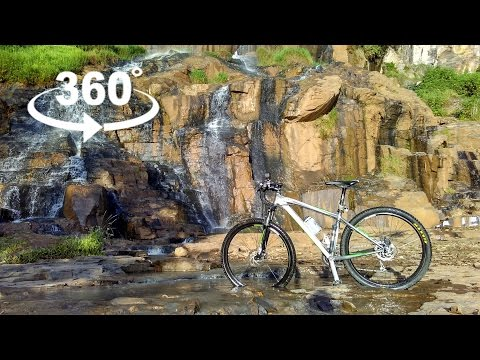 Ride to Batu Templek : Another route - Elecam 360 video