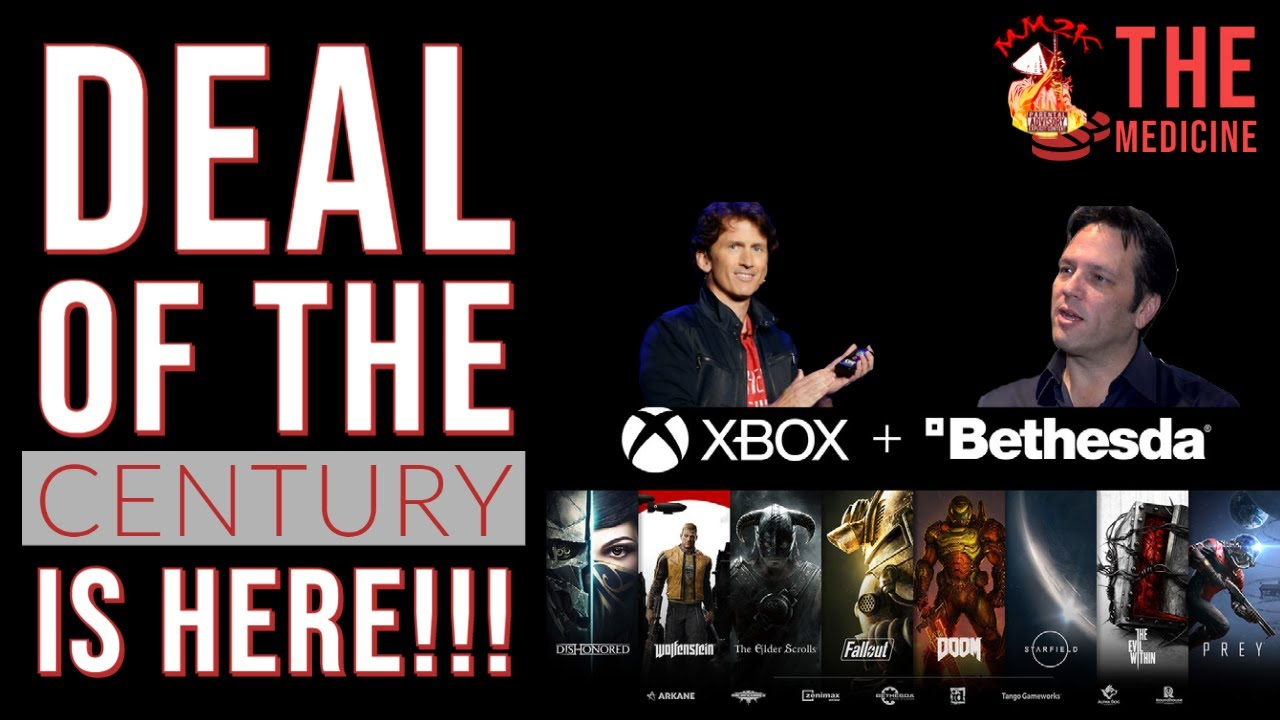 BREAKING!!! MICROSOFT GETS BETHESDA IN MAJOR ACQUISITION! | #TheMedicine