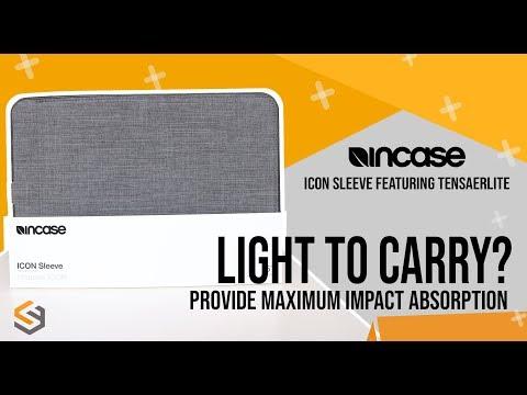 INCASE Icon Sleeve TENSAERLITE Review