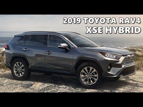 2019 Toyota Rav4 Xse Hybrid Youtube
