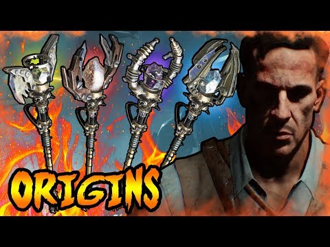 What HAPPENED To The Original ORIGINS STAFFS! Call of Duty Black Ops Zombies Storyline & Easter Eggs