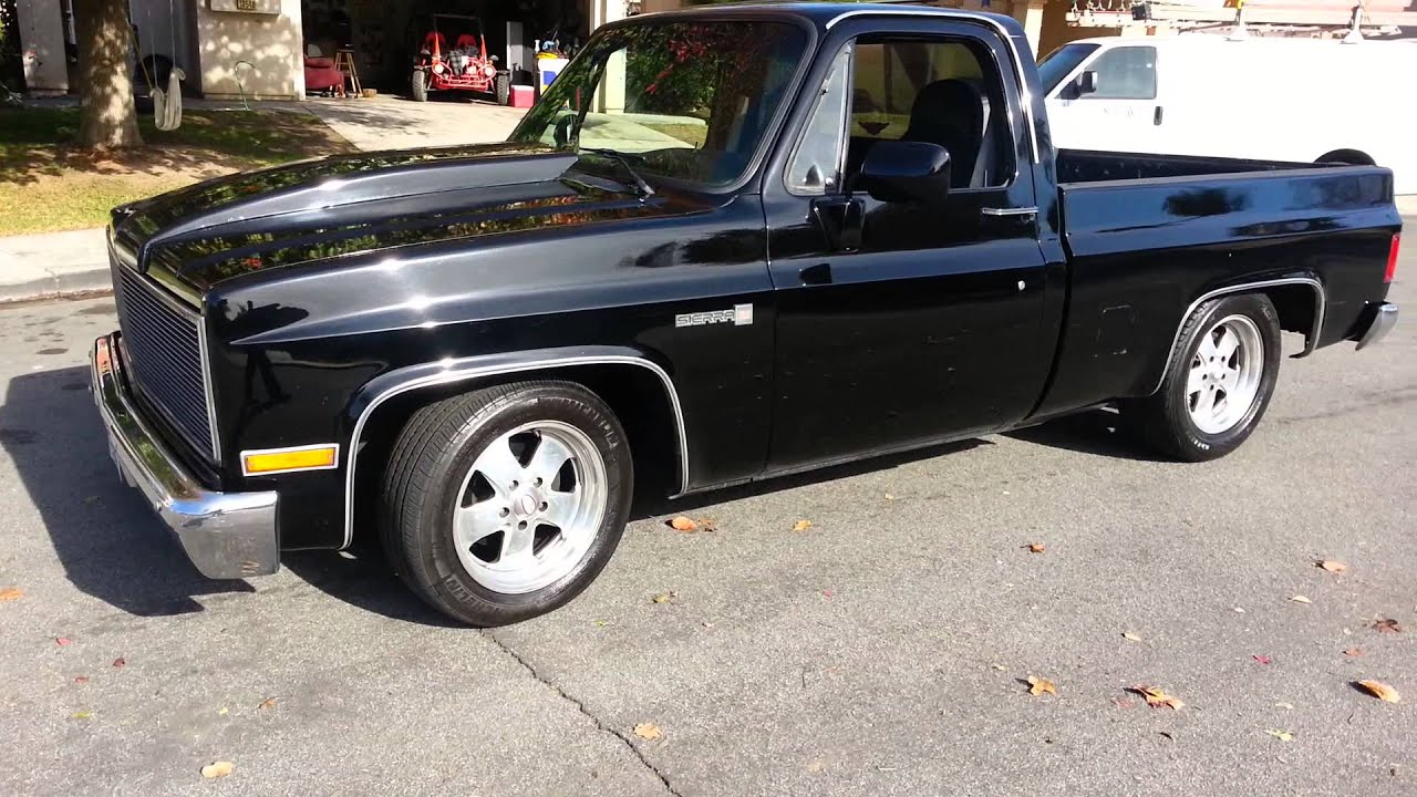 86 gmc sierra 305 cammed youtube