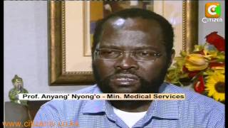 Nyong'o: My Battle with Cancer