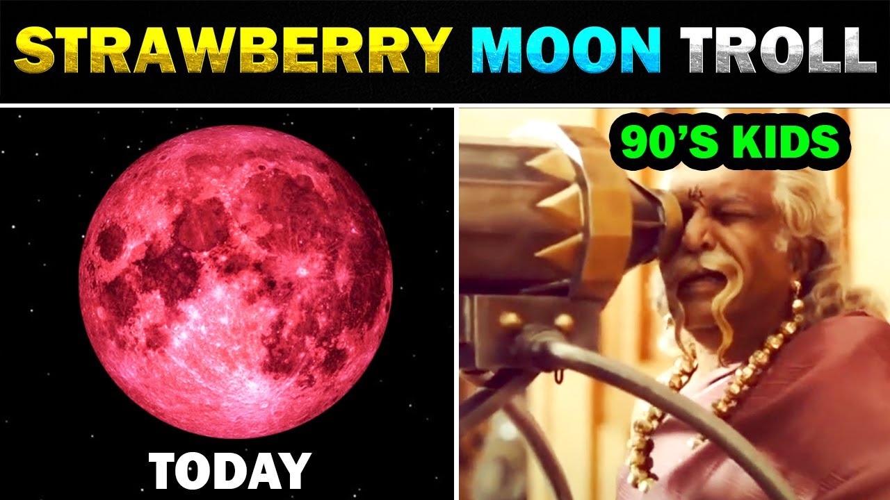 Look up tonight_ Strawberry Moon will appear Friday, here's the best ...