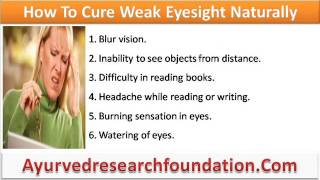 Herbal Remedies To Cure Weak Eyesight Naturally And Effectively