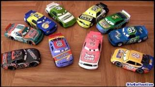 10 Disney Cars Racers Synthetic rubber tires