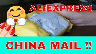 Unboxing AliExpress Gel Nails Product.