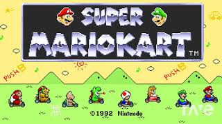 Mario Kart Act 1 - Rainbow Road & Sonic & Knuckles Music | RaveDJ