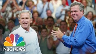 Jeb Bush Opens Up About Campaigning And Comparison to George Jr. | NBC News