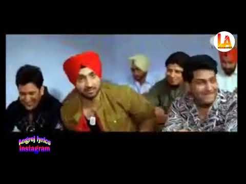Jihne Mera Dil Luteya Full Hd Video || Funny Video Diljit Dosanjh || Lyrics Angrej