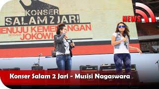 Nagaswara News - Konser Salam 2 Jari - TV Musik Indonesia
