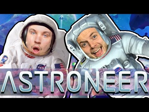 WORLD'S GREATEST ASTRONAUTS! - ASTRONEER GAMEPLAY! #1 - W/AshDubh