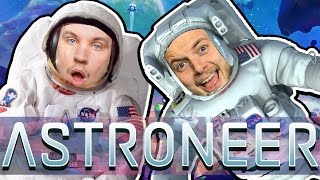 WORLD'S GREATEST ASTRONAUTS! - ASTRONEER GAMEPLAY! #1 - W/AshDubh thumbnail