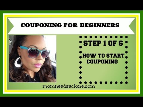 Couponing For Beginners How To Start Couponing Step
