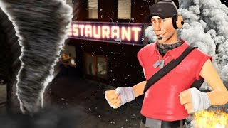 We Tried to Open A Restaurant and Natural Disasters Struck The City in Garry's Mod (Gmod)