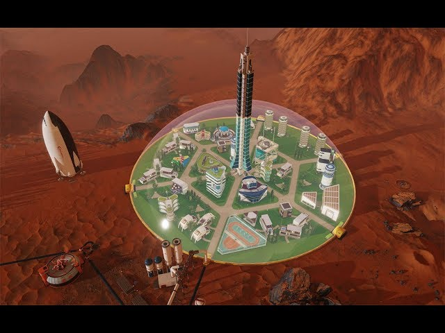 Surviving Mars - Trailer de gameplay gamescom 2017