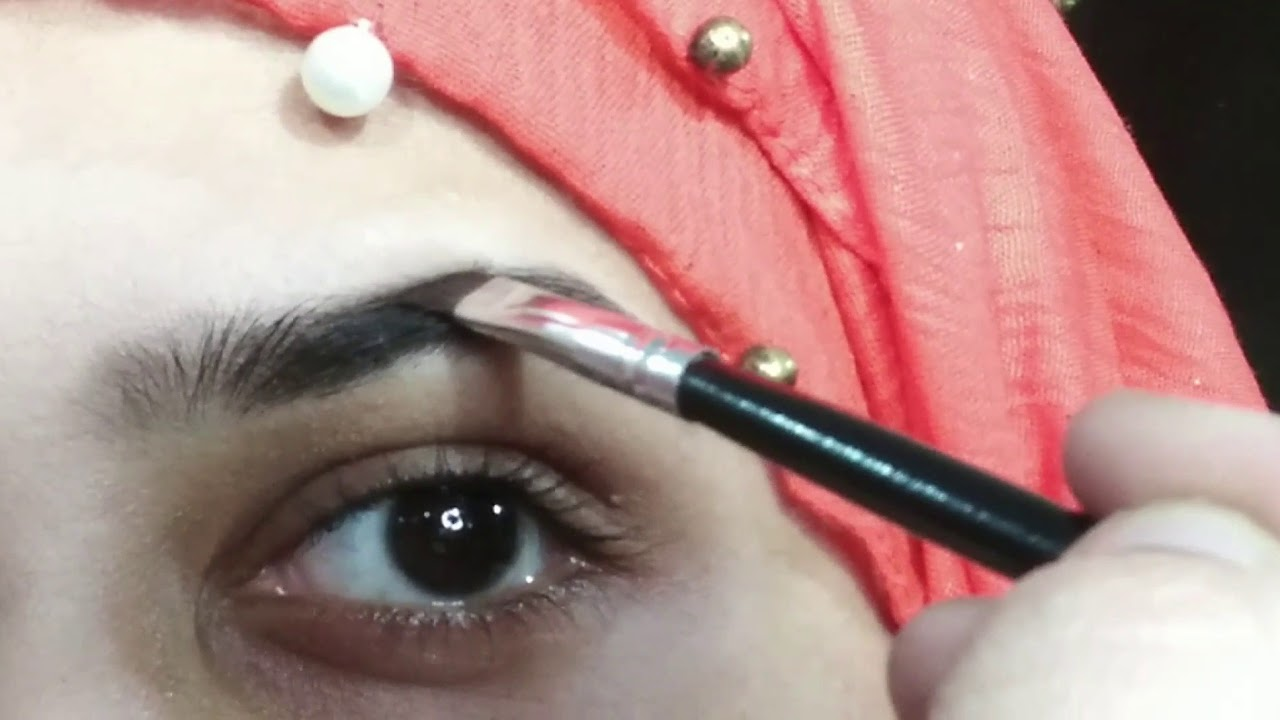 How to fill in Eyebrows for beginners   Easy tutorial ...
