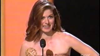 Debra Messing wins 2003 Emmy Award for Lead Actress in a Comedy Series