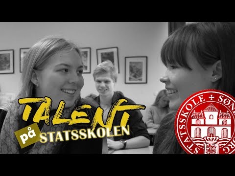Når man har talent
