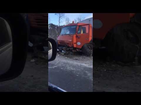 ДТП на трассе Тюмень - Ханты-Мансийск под Уватом, 22.01.16