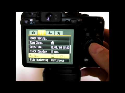 Settings for 0-360 Panoramic Optic with Canon PowerShot G10 digital camera