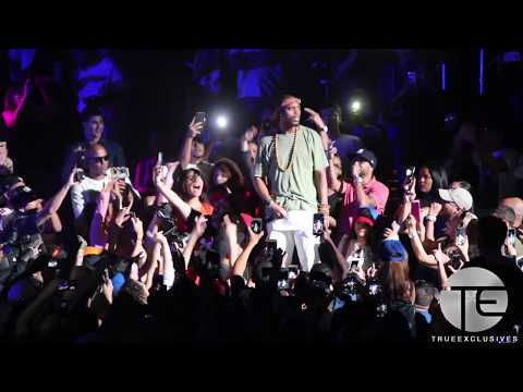 B.O.B Jumps Into Crowd at Puerto Rico Benefit Concert