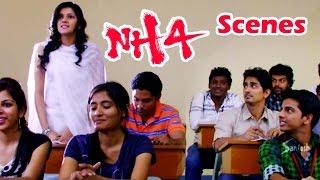 Comedy scene Between Rithika &  Deepak || NH4 Telugu Movie Scenes || Siddharth | Ashrita Shetty