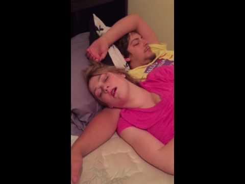 Sleeping , snoring , cats, dogs, music ;)
