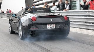 GREAT Supercars Sounds @ 2015 Top Marques Monaco - Accelerations, Revs, Tunnel & More